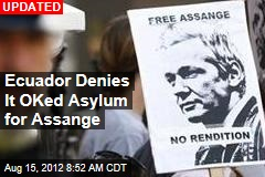Report: Ecuador to Grant Asylum to Assange