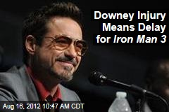 Downey Injury Means Delay for Iron Man 3