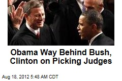 Obama Lets Judicial Picks Slide in First Term
