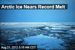 Arctic Ice Nears Record Melt