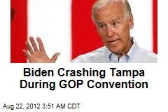 Biden Crashing Tampa During GOP Convention