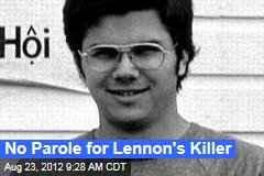 No Parole for Lennon's Killer