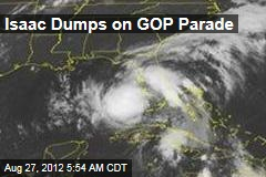Isaac Dumps on GOP Parade