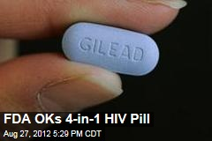 FDA OKs 4-in-1 HIV Pill