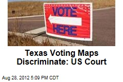 Texas Voting Maps Discriminate: US Court