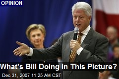 What's Bill Doing in This Picture?