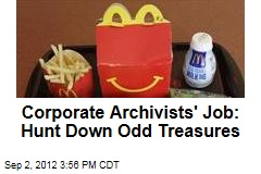 Corporate History Buffs Relish Hidden Treasure