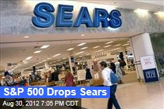 S&P 500 Drops Sears