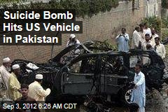2 Killed as Pakistan Suicide Bomb Hits US Vehicle