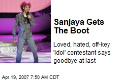 Sanjaya Gets The Boot