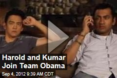 Harold and Kumar Join Team Obama