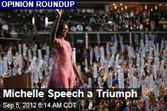 Michelle Speech a Triumph