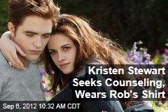 Kristen Stewart Seeks Counseling, Wears Rob's Shirt