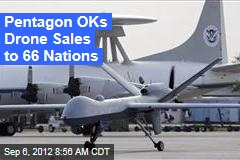 Pentagon OKs Drone Sales to 66 Nations
