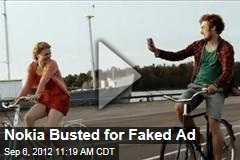 Nokia Busted for Faked Ad
