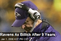 Ravens Ax Billick After 9 Years