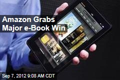 Amazon Grabs Major e-Book Win