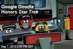 Google Doodle Honors Star Trek