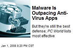 Malware Is Outpacing Anti-Virus Apps