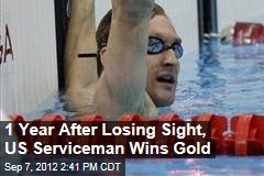 1 Year After Losing Sight, US Serviceman Wins Gold