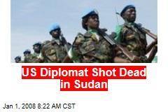 US Diplomat Shot Dead in Sudan