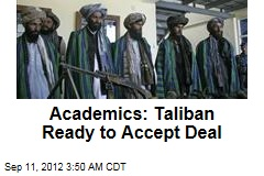 Academics: Taliban Ready to Accept Deal