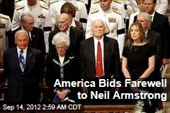 America Bids Farewell to Neil Armstrong