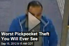 Worst Pickpocket Theft You Will Ever See