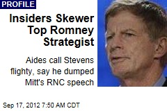 Insiders Skewer Top Romney Strategist