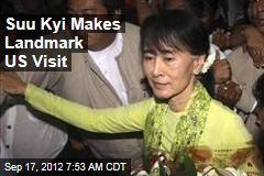 Suu Kyi Makes Landmark US Visit