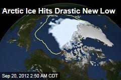 Arctic Ice Hits Drastic New Low