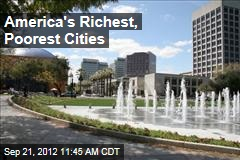 America's Richest, Poorest Cities