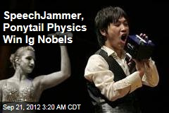 SpeechJammer, Ponytail Physics Win Ig Nobels