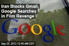 Iran Blocks Gmail, Google Searches Over Film