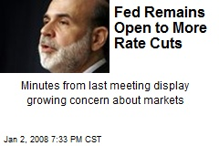 Fed Remains Open to More Rate Cuts