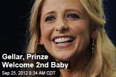 Gellar, Prinze Welcome 2nd Baby