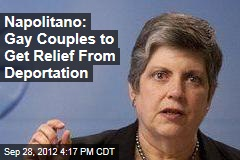 Napolitano: LGBT Couples Get Relief From Deportation