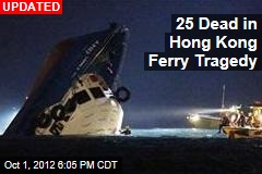 Hong Kong Ferry Carrying 120 Collides With Tug, Sinks
