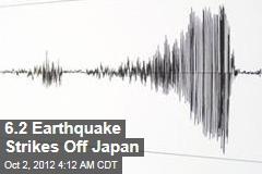 6.2 Earthquake Strikes off Japan