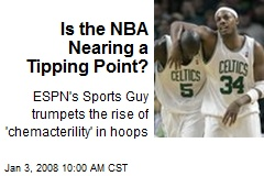 Is the NBA Nearing a Tipping Point?