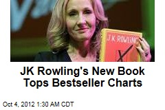 JK Rowling's New Book Tops Bestseller Charts