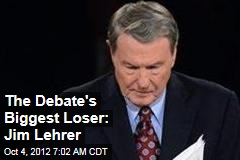The Debate's Biggest Loser: Jim Lehrer