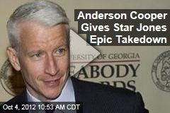 Anderson Cooper Gives Star Jones Epic Takedown