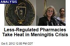 Less-Regulated Pharmacies Take Heat in Meningitis Crisis