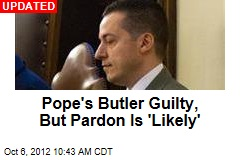 Pope's Butler Gets 18 Months for Stealing Documents