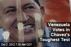 Venezuela Votes in Chavez's Toughest Test