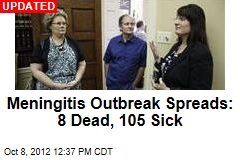 Meningitis Outbreak Spreads; 91 Infected