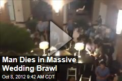 Man Dies in Massive Wedding Brawl