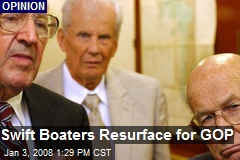Swift Boaters Resurface for GOP