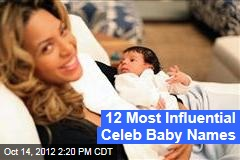 12 Most Influential Celeb Baby Names